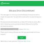 Bitcasa is dead… again